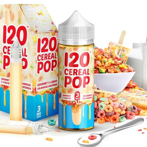 Mad Hatter - 120 Cereal Pop - 100ml (Shortfill)