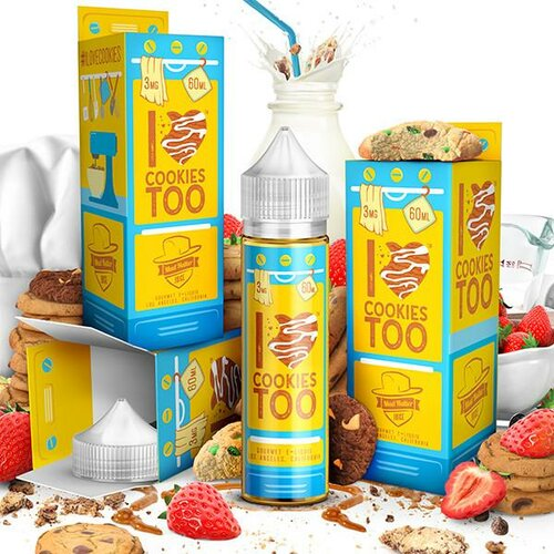 Mad Hatter - I Love Cookies too - 50ml (Shortfill)