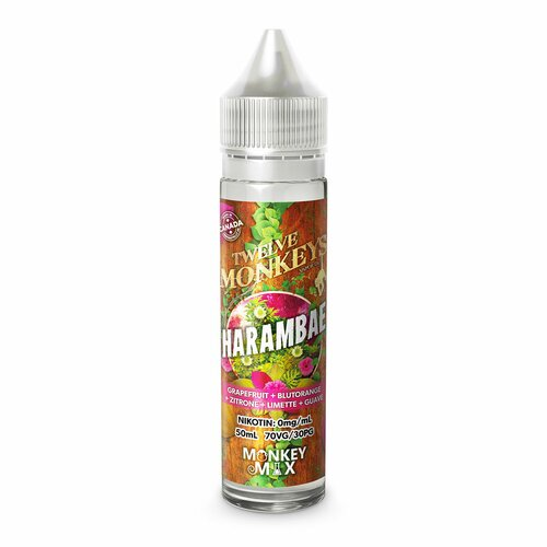 Twelve Monkeys - Harambae - 50ml (Shortfill)