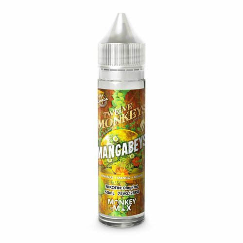 Twelve Monkeys - Mangabeys - 50ml (DIY-Liquid)