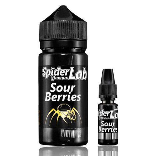 SpiderLab - Sour Berries - 10ml Aroma (Bottle in Bottle)...