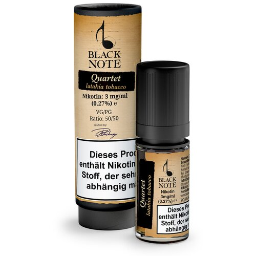 Black Note - Quartet - 10ml - 12 mg/ml