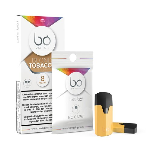 BO Caps - Blond Tobacco (2er Pack) - 8 mg/ml