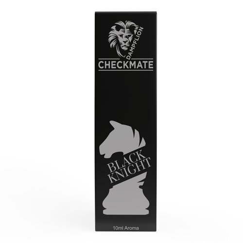 Dampflion - Checkmate - Black Knight - 10ml Aroma (Bottle...