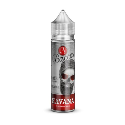 3 Baccos by PGVG - Havana - 15ml Aroma (Longfill) //...