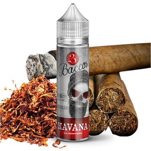 3 Baccos by PGVG - Havana - 15ml Aroma (Longfill)