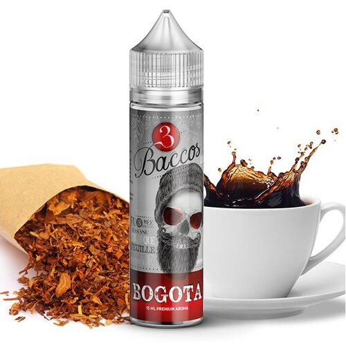 3 Baccos by PGVG - Bogota - 15ml Aroma (Longfill) //...