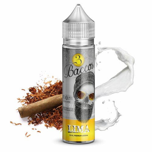 3 Baccos Gold by PGVG - Lima - 15ml Aroma (Longfill)