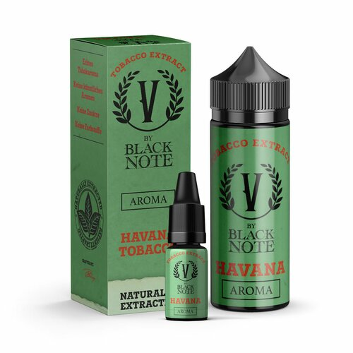 V by Black Note - Havana - 10ml Aroma (Bottle in Bottle)...