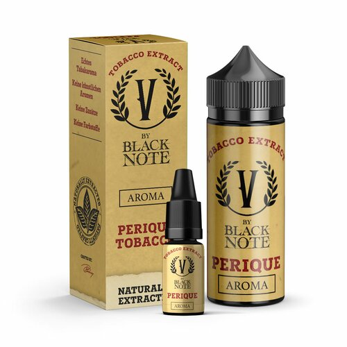 V by Black Note - Perique - 10ml Aroma (Bottle in Bottle)