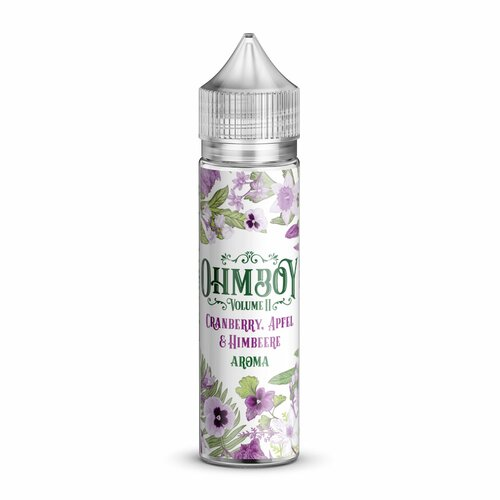 Ohmboy Volume II - Cranberry, Apple & Raspberry - 15ml...