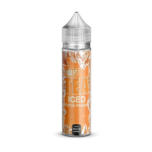 Twist Tea by PGVG - Pekoe Peach ICE - 15ml Aroma (Longfill)