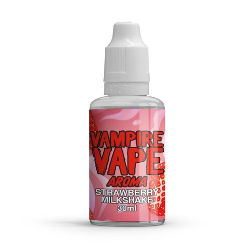 Vampire Vape - Strawberry Milkshake (Aroma) - 30ml // Konform 2021