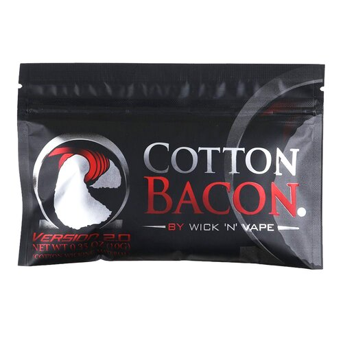 Cotton Bacon V2 by WicknVape - Cotton / Watte (10g)