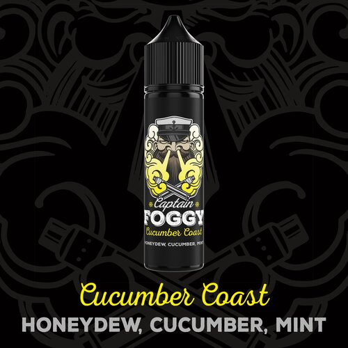 Captain Foggy - Cucumber Coast - 15ml Aroma (Longfill)