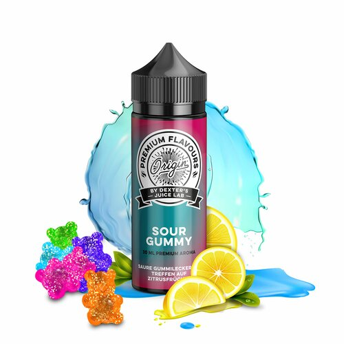 *NEW* Dexters Juice Lab - Origin - Sour Gummy - 30ml...