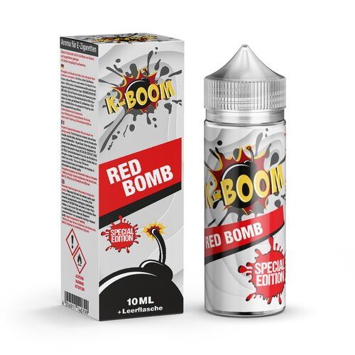 *NEU* K-Boom Specials - Red Bomb 2020 - 10ml Aroma (Bottle in Bottle)