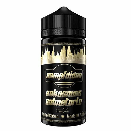 Dampfdidas - Coconut Cream Cake - Limited Edition - 40ml...