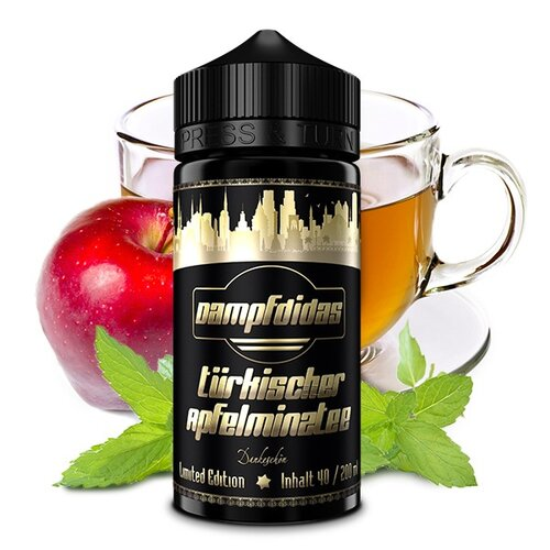 Dampfdidas - Turkish Apple Mint Tea - Limited Edition -...