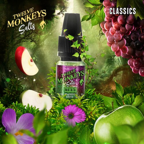 Twelve Monkeys - Matata - Nikotinsalz - 10ml - 20mg/ml