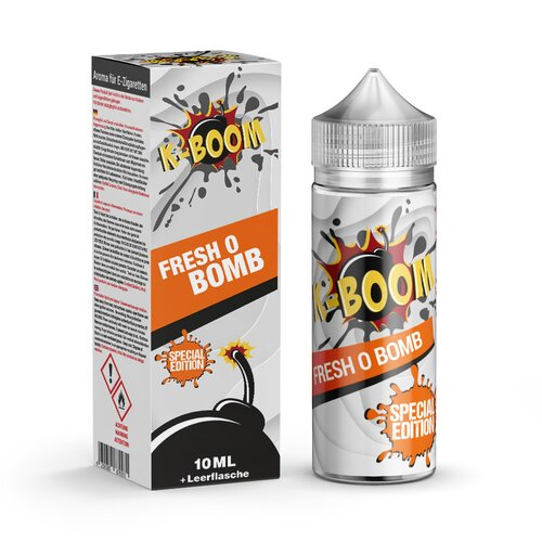 *NEU* K-Boom - Fresh O Bomb 2020 - 10ml Aroma (Bottle in...